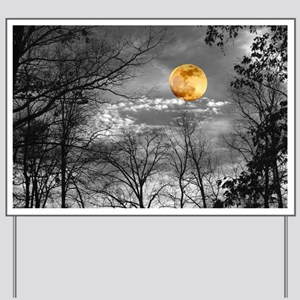Harvest Moon Yard Sign