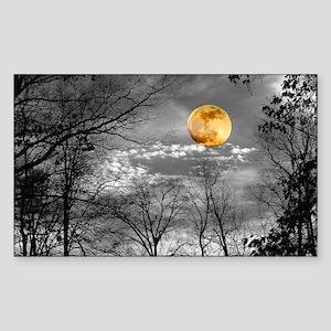 Harvest Moon Sticker (Rectangle)