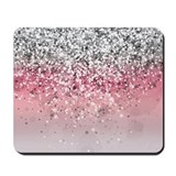 Glitter Mouse Pads