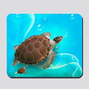 Cute Sea Turtles Mousepad