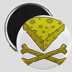 Cheese & Crossbones Magnet
