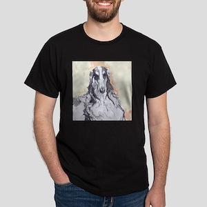 Watercolor Borzoi Dark T-Shirt
