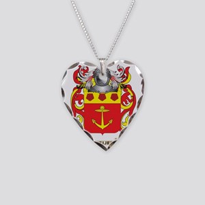 Meijer Coat of Arms - Family  Necklace Heart Charm