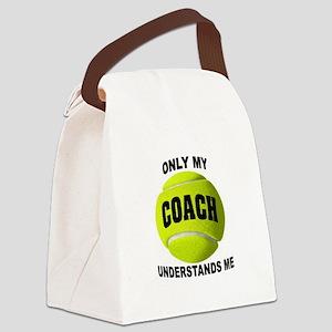 TENNIS COACH Canvas Lunch Bag