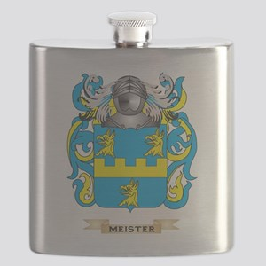 Meister Coat of Arms - Family Crest Flask