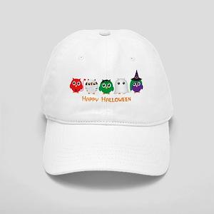 Happy Halloween Owls Cap