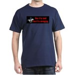 The NSA Is Coming Dark T-Shirt