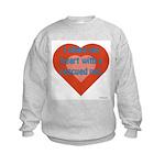 I Share My Heart Kids Sweatshirt