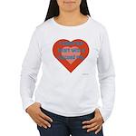 I Share My Heart Women's Long Sleeve T-Shirt