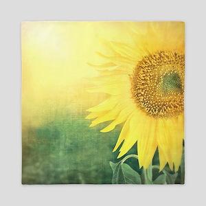 Beautiful Sunflower Queen Duvet