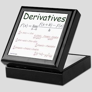 Derivative Formulas Keepsake Box