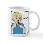 Aliena Bacon Design Mugs