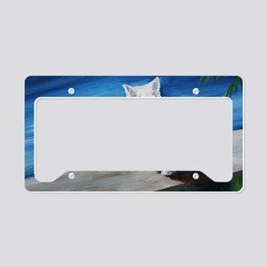 Red Ball License Plate Holder