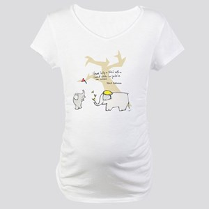 Let Them Spread Their Wings Maternity T-Shirt