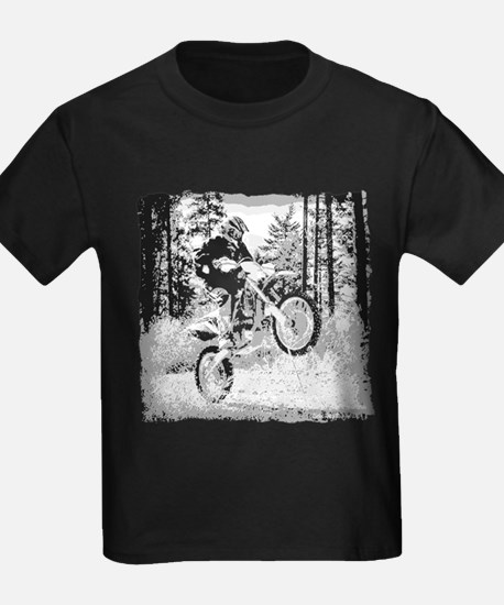 Fun in the woods dirt biking T
