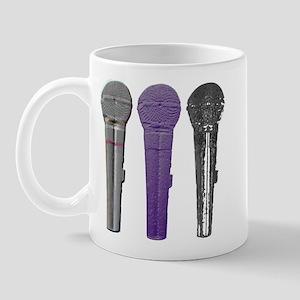 3 mics metal Mug