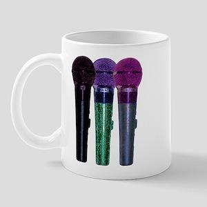 3 mics stacked purples Mug