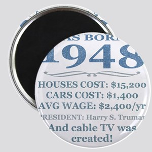 Birthday Facts-1948 Magnet