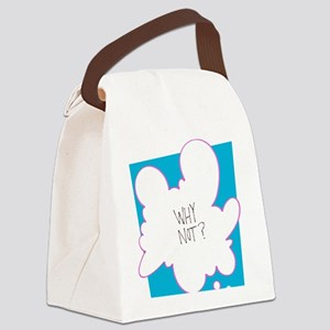 Why Not? Canvas Lunch Bag