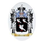 Encinas Ornament (Oval)