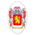Enault Sticker (Oval 50 pk)