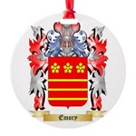 Emory Round Ornament