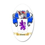 Emons 20x12 Oval Wall Decal