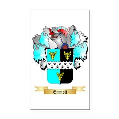 Emmott Rectangle Car Magnet