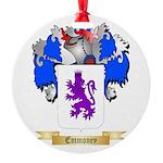 Emmoney Round Ornament