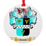 Emmitt Round Ornament