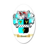 Emmett 35x21 Oval Wall Decal