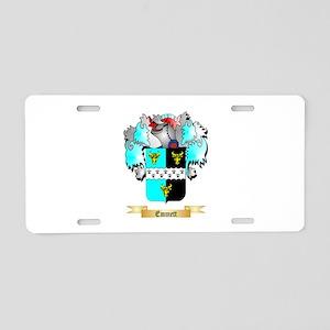 Emmett Aluminum License Plate