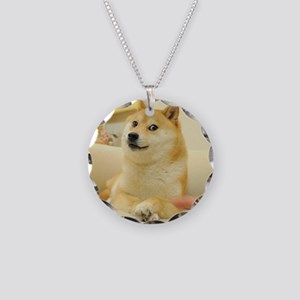 SHIBES Necklace Circle Charm