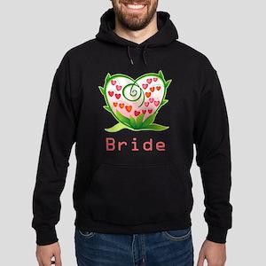 Bleeding Heart Bride Hoodie (dark)