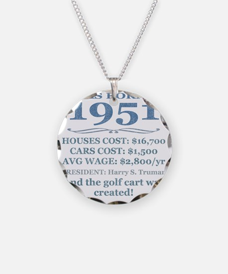 Birthday Facts-1951 Necklace