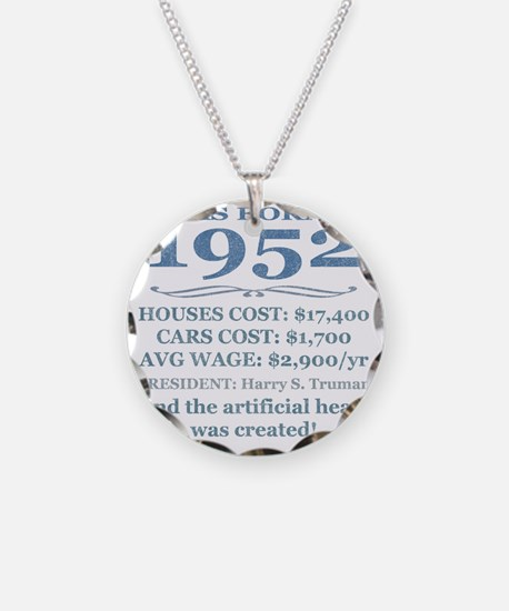 Birthday Facts-1952 Necklace