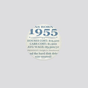 Birthday Facts-1955 Mini Button