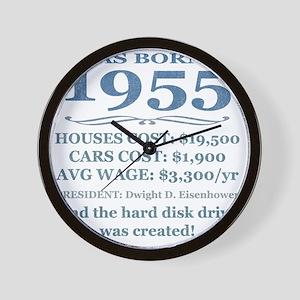 Birthday Facts-1955 Wall Clock