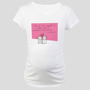Treats Maternity T-Shirt