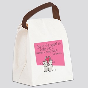 Treats Canvas Lunch Bag