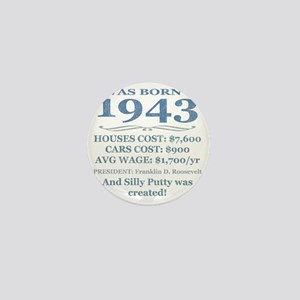Birthday Facts-1943 Mini Button