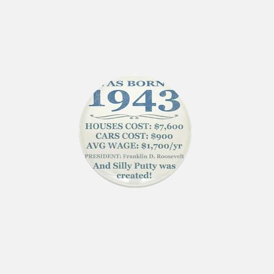 Birthday Facts-1943 Mini Button