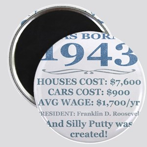 Birthday Facts-1943 Magnet