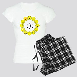 Emoticons Women's Light Pajamas