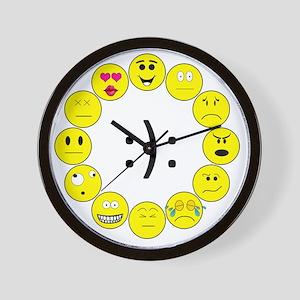 Emoticons Wall Clock