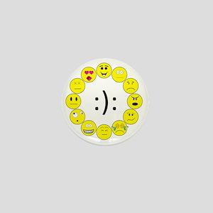 Emoticons Mini Button