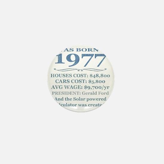 Birthday Facts-1977 Mini Button