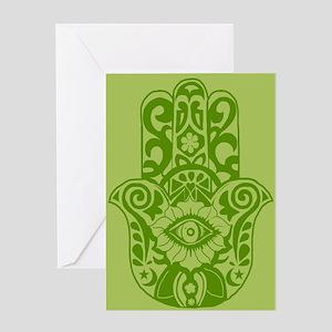 hamsa Greeting Cards