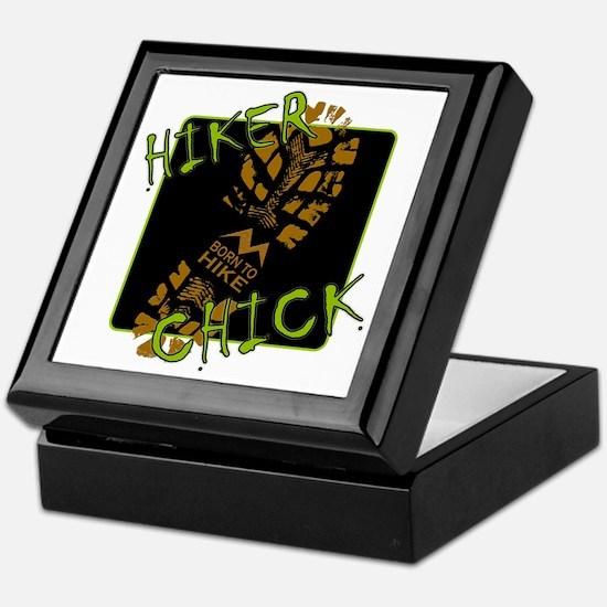 Hiker Chick - Boot Keepsake Box