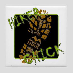 Hiker Chick - Boot Tile Coaster